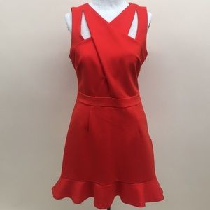 Bailey Knit Crossover Dress